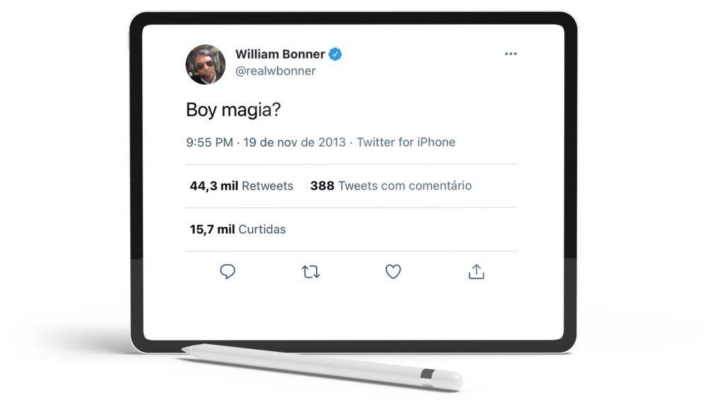 Twitter William Bonner.