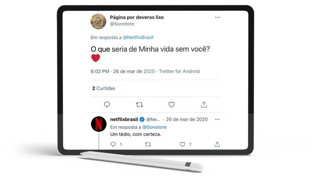Twitter da Netflix.