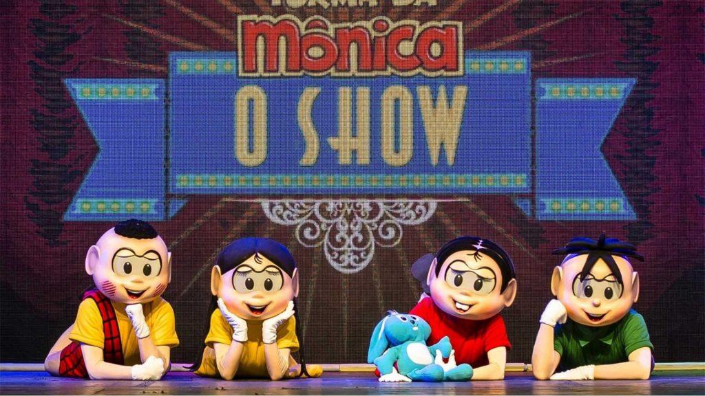 """Peça """"Turma da Mônica o Show""""."""
